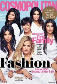 Snore: The Kardashian/Jenner Clan Celebrates Cosmopolitan's 50th Anniversary (Forum Buzz)
