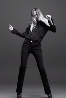 Not Just a Pretty Face: Supermodel Natasha Poly Sings in Frame Denim's Campaign Video