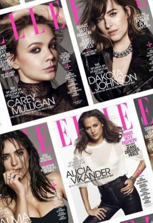 US Elle November 2015 : The Women In Hollywood Issue