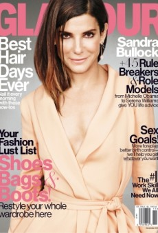 Sandra Bullock Is the Victim of Too Much Photoshop on the November Cover of Glamour (Forum Buzz)