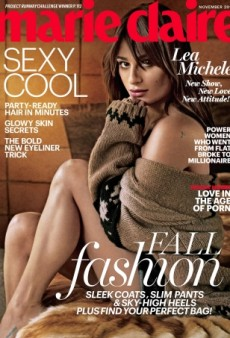 Lea Michele Tries Out Sexy on the Cover of Marie Claire (Forum Buzz)