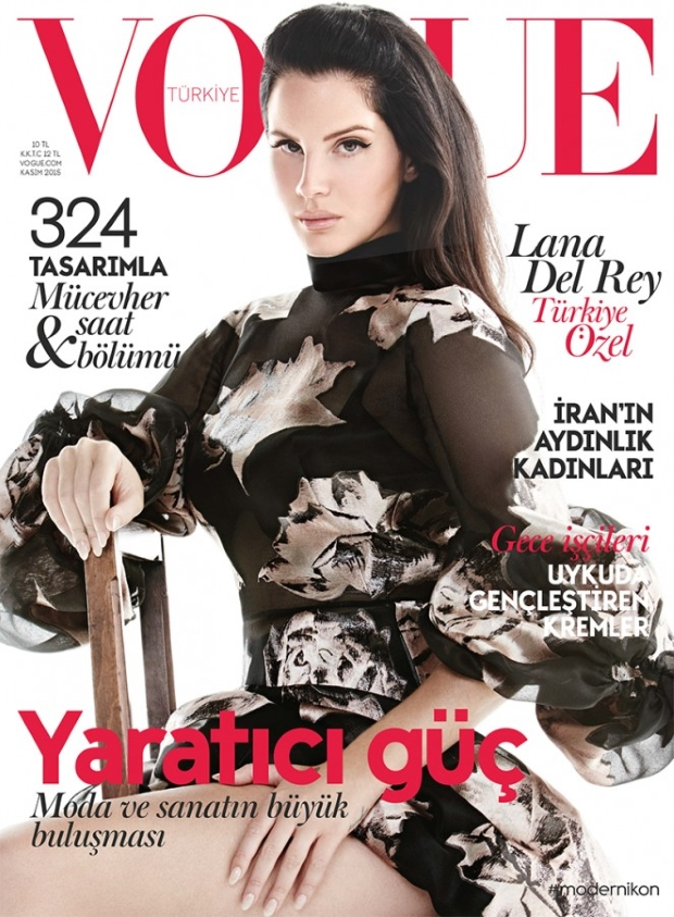 Vogue Turkey November 2015 : Lana Del Rey by Liz Collins