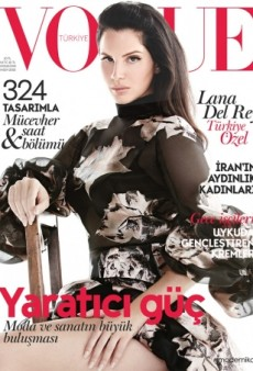 Lana Del Rey Is Unrecognizable on the Cover of Vogue Turkey (Forum Buzz)