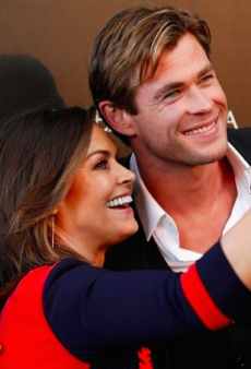 Aussies Support Chris Hemsworth On 'The Heart of the Sea' Sydney Red Carpet