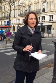 Reporter Claps Back at Fashion Criticism During Paris Attacks