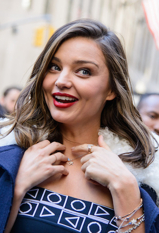 Miranda Kerr attends the unveiling of the Swarovski Star to be placed on the Rockefeller Center Christmas Tree in New York City Featuring: Miranda Kerr Where: New York, New York, United States When: 16 Nov 2015 Credit: C.Smith/ WENN.com
