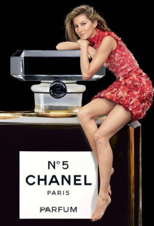 Chanel No. 5 Christmas 2015 Campaign : Gisele Bündchen by Patrick Demarchelier