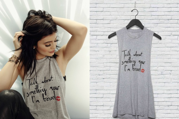 Kylie Jenner Lip Injections T Shirt TheFashionSpot