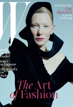 W Magazine December 2015 : Cate Blanchett by Tim Walker