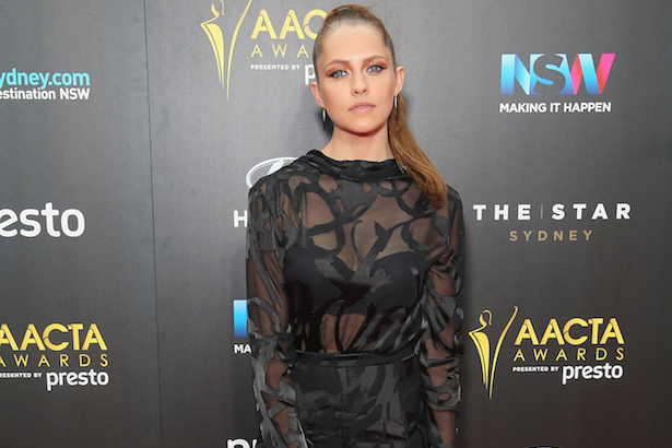 Teresa Palmer at the 2015 AACTAs