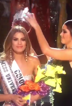Watch: Miss Universe Host Accidentally Crowns the Wrong Winner