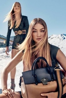 Gigi Hadid, Natasha Poly and Raquel Zimmermann Battle It Out in Versace's Spring 2016 Campaign (Forum Buzz)