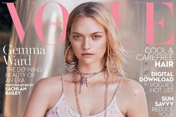 Vogue Australia January 2016 : Gemma Ward by Lachlan Bailey