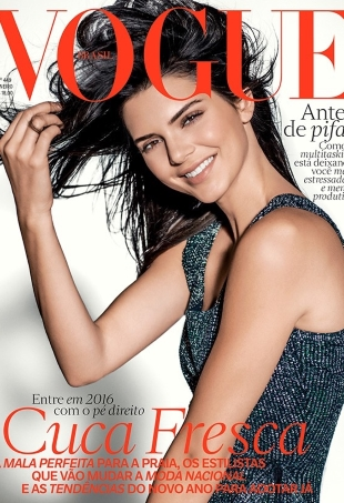 Vogue Brazil January 2016 : Kendall Jenner by Russell James