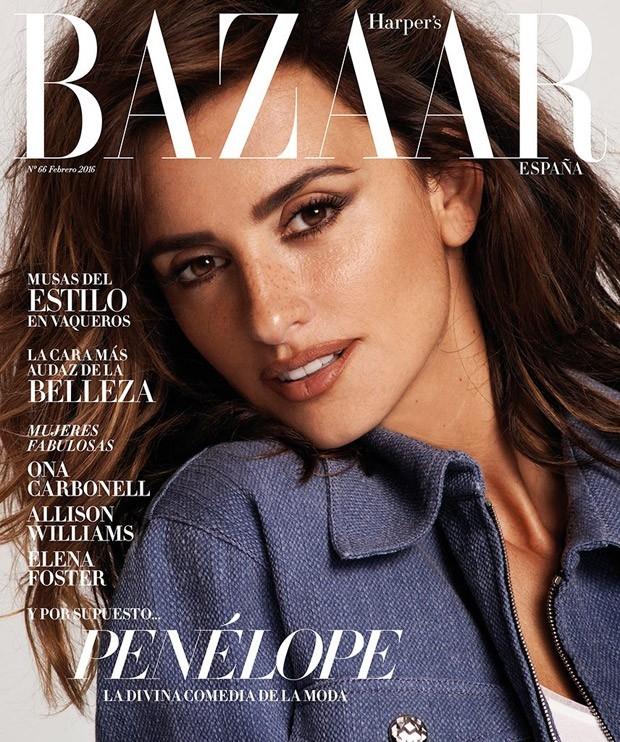 Harper's Bazaar España February 2016 : Penélope Cruz by Cedric Buchet
