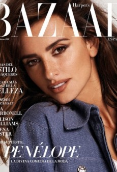 Nothing but Love for Penélope Cruz's Gorgeous New Cover of Harper's Bazaar Spain (Forum Buzz)