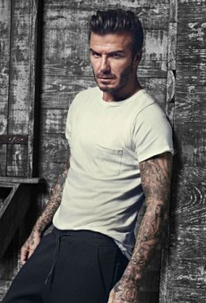David Beckham Makes Even Loungewear Look Sexy in New H&M Ads