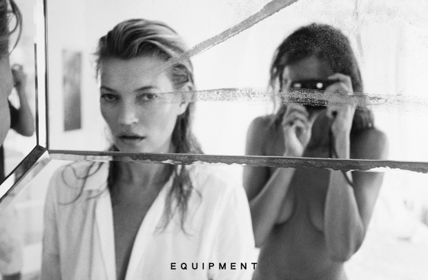 Equipment S/S 2016 : Daria Werbowy & Kate Moss by Daria Werbowy