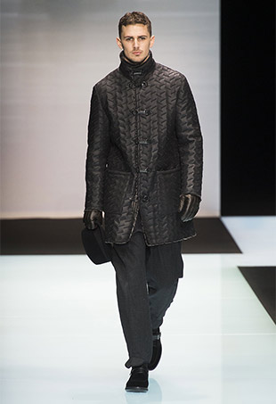 Giorgio Armani Men's Fall 2016 Runway