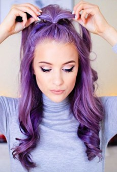 16 Hair Looks That Will Convince You to Go Lavender