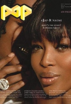 Naomi Campbell Cozies Up to A$AP Rocky on POP Magazine (Forum Buzz)