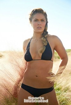 Sneak Peek: Ronda Rousey Wears Nothing but Body Paint for Sports Illustrated Swimsuit Issue