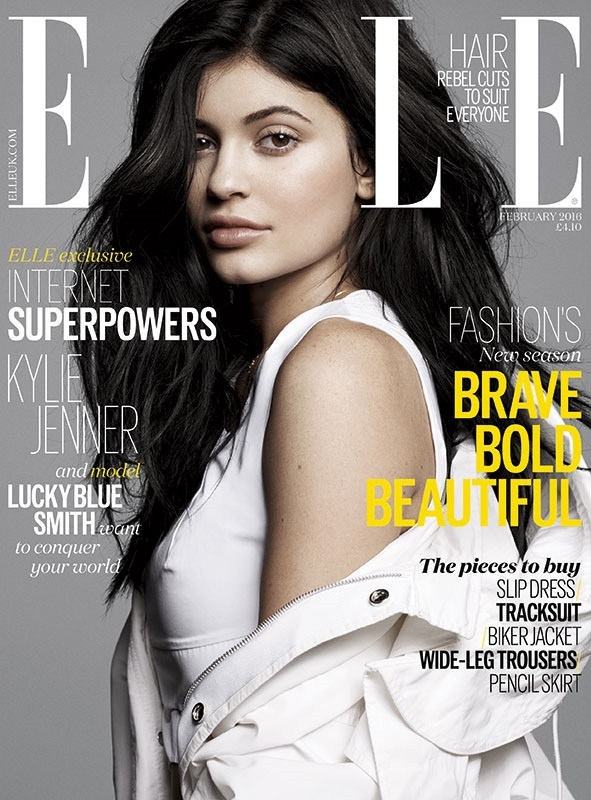 UK Elle February 2016 : Kylie Jenner by Jan Welters