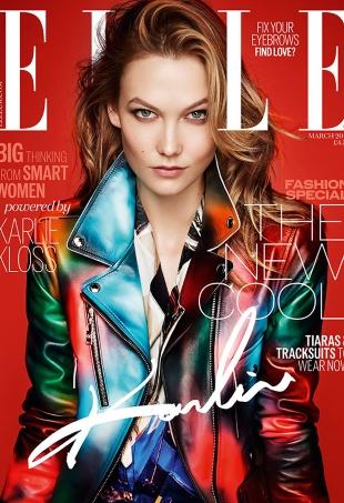 UK Elle March 2016 : Karlie Kloss by Kai Z Feng