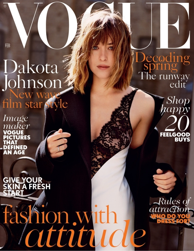 UK Vogue February 2016 : Dakota Johnson by Alasdair McLellan