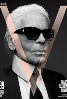Lady Gaga Guest Edits V Magazine, Taps Karl Lagerfeld and Hedi Slimane to Photograph Each Other for the Cover