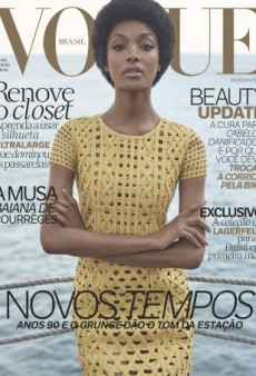 Jourdan Dunn's Afro on Vogue Brazil Causes Controversy on Our Forums (Forum Buzz)