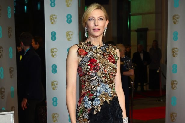 EE British Academy Film Awards (BAFTA) 2016 - Arrivals - at the Royal Opera House, Covent Garden, London Featuring: Cate Blanchett Where: London, United Kingdom When: 14 Feb 2016 Credit: WENN.com
