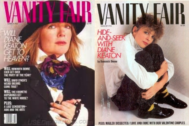 Diane Keaton on Vanity Fair