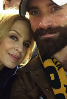 Kylie Minogue Is Engaged to British Actor Joshua Sasse, and His Magnificent Beard