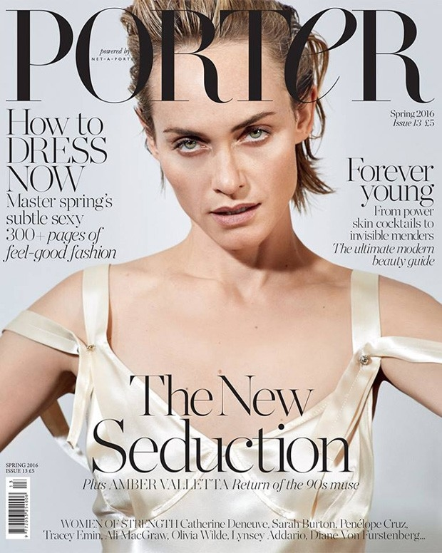 Porter #13 Spring 2016 : Amber Valletta by Collier Schorr