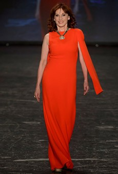 Go Red For Women Red Dress Collection 2016 Runway