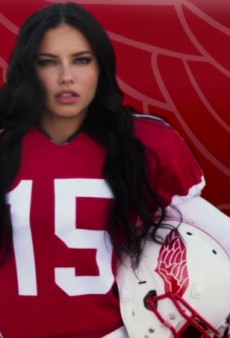 Watch: The Victoria's Secret Angels Are Surprisingly Good at Playing Football