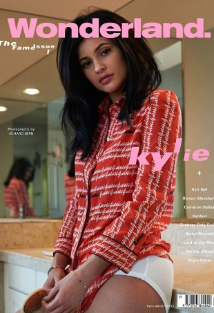 Wonderland S/S 2016 : Kylie Jenner by Richard Kern