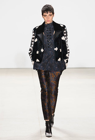 Yigal Azrouël Fall 2016 Runway