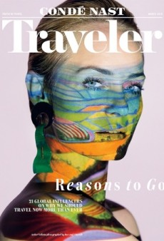 Condé Nast Traveler Has Our Attention With This Intriguing Amber Valletta Cover (Forum Buzz)