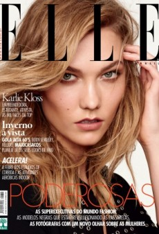 Karlie Kloss Gives Us 'Serious Supermodel Vibes' on ELLE Brazil (Forum Buzz)