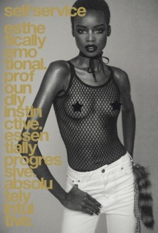 Maria Borges Steals the Spotlight From Anna Ewers on This Self Service Cover (Forum Buzz)
