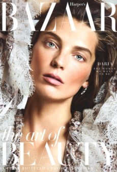 Daria Werbowy Makes for a Surprising (but Welcome!) Cover Star on UK Harper's Bazaar (Forum Buzz)