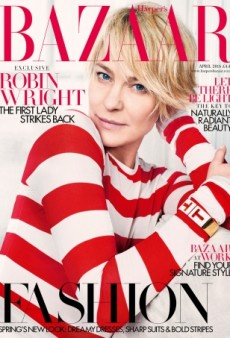 Robin Wright's True Beauty Is Airbrushed Away on the Cover of UK Harper's Bazaar (Forum Buzz)