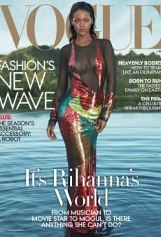 Rihanna Just Landed Her Fourth Cover of US Vogue — and It's Gorgeous (Forum Buzz)