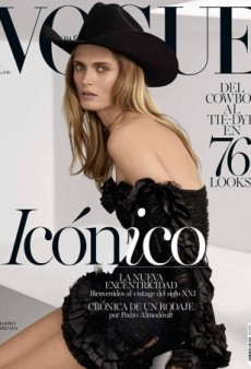 Malgosia Bela Gives Us Major Cowgirl Envy on Vogue Spain's Stunning Cover (Forum Buzz)