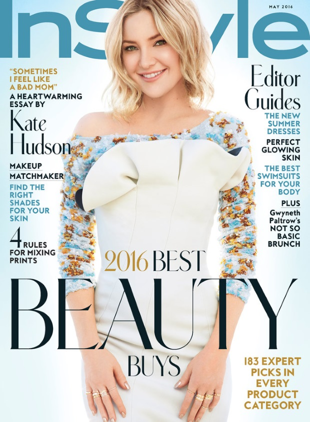 US InStyle May 2016 : Kate Hudson by Greg Kadel