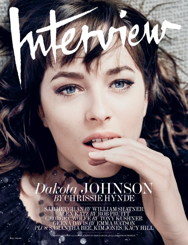 Interview May 2016 : Dakota Johnson by Craig McDean