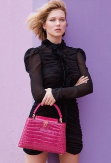 Léa Seydoux's First Campaign for Louis Vuitton Kind of Misses the Point (Form Buzz)