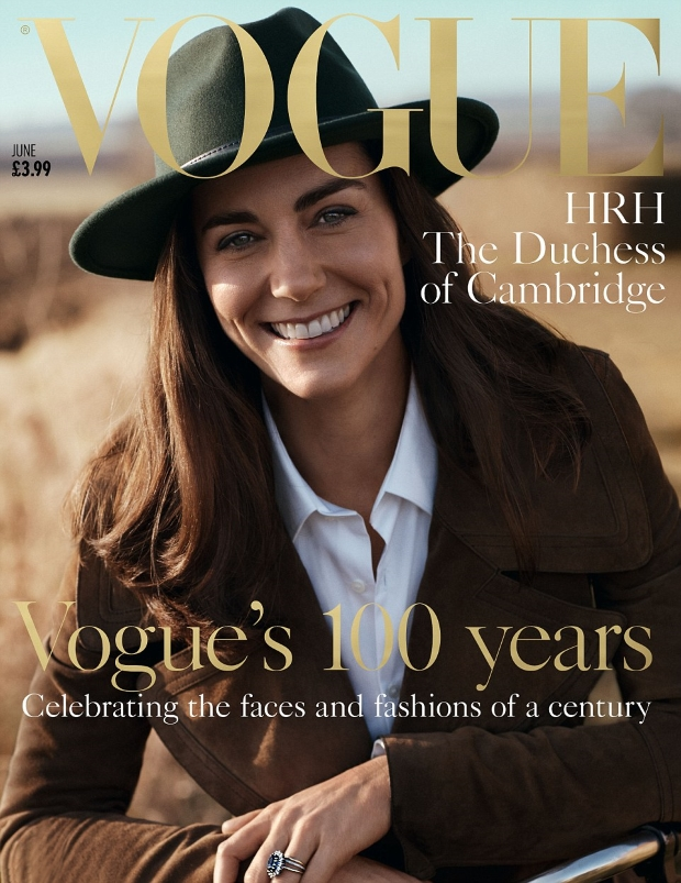 UK Vogue June 2016 : The Duchess of Cambridge by Josh Olins